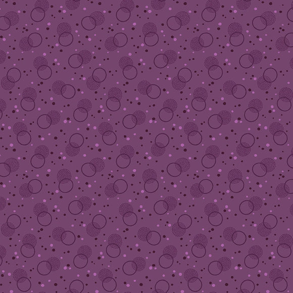 Benartex Homestead Country Purple