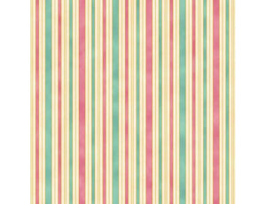 The Textile Pantry The Hampton Stripe Pink