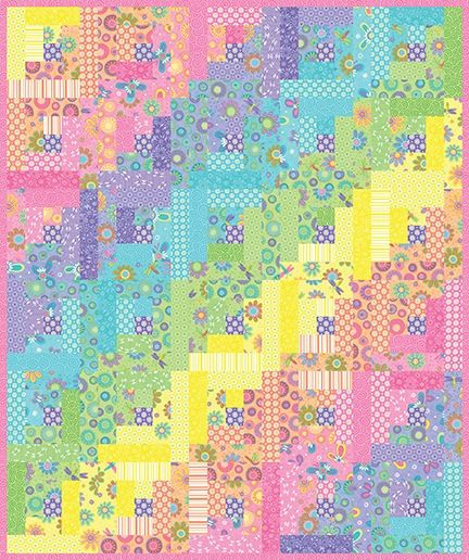 Jelly Rolls Gone Wild Pattern
