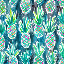 Quilting Treasures Wild and Fruity Teal