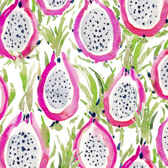 Quilting Treasures Wild and Fruity White