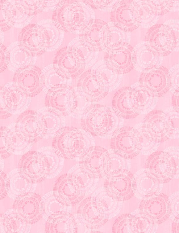 Wilmington Prints Essential Circle Burst Pink