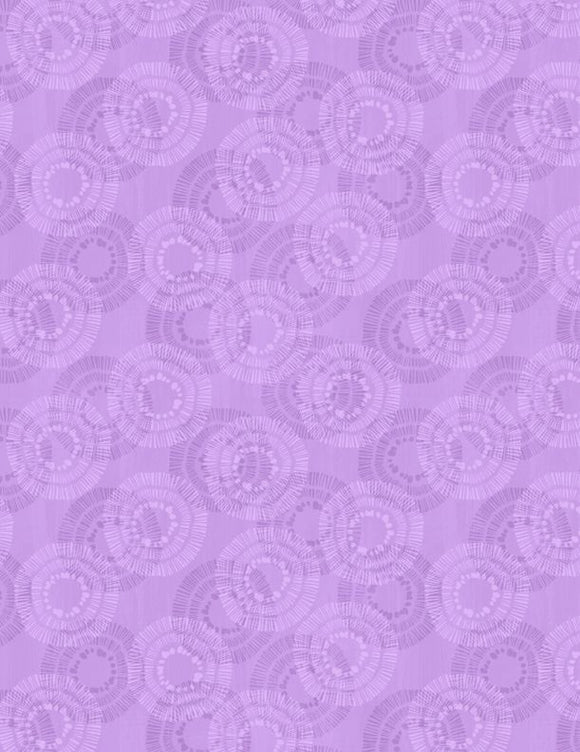 Wilmington Prints Essential Circle Burst Lavender