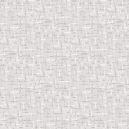 Studio e Fabrics Cream and Sugar VIII Gray