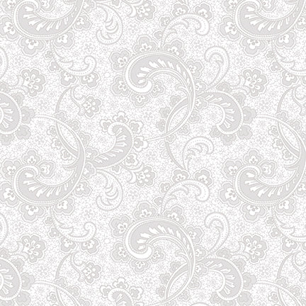 Studio e Fabrics Cream and Sugar VIII White