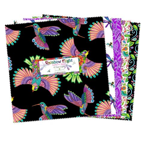 Wilmington Prints Rainbow Flight Layer Cake