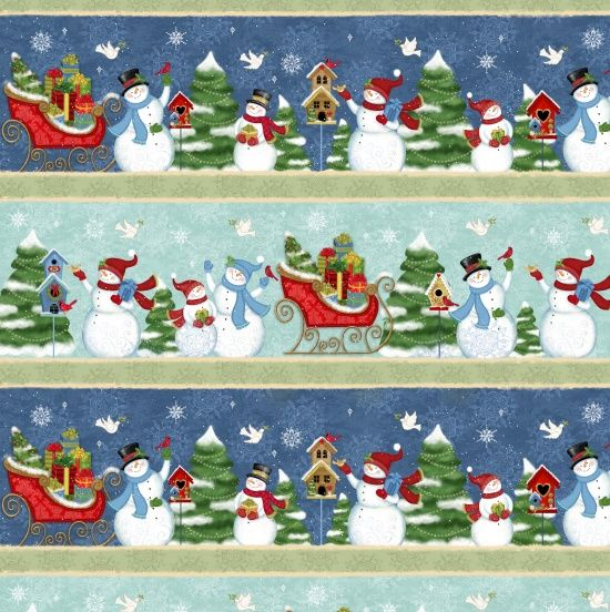 Studio e Fabrics Winter Joy Multi