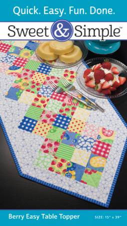 Sweet and Simple Berry Easy Table Topper
