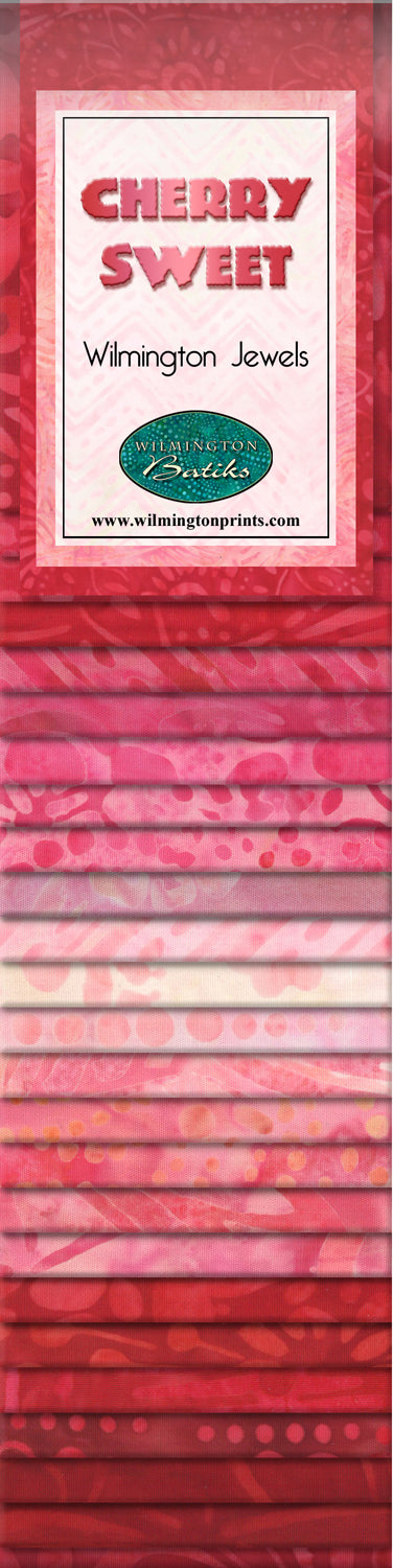 Wilmington Batiks Cherry Sweet Strip Pack