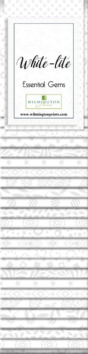 Wilmington Prints White-Lite Strip Pack