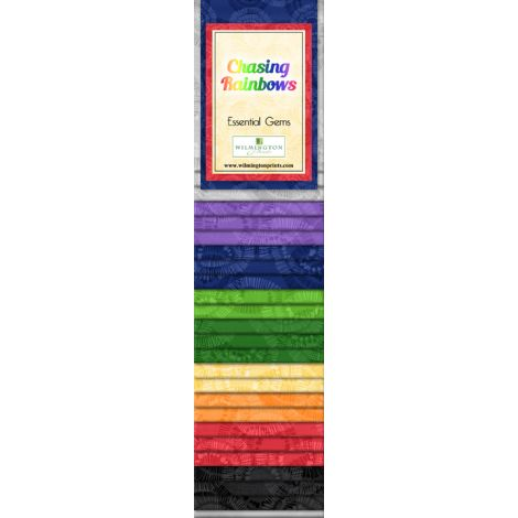 Wilmington Prints Chasing Rainbows Strip Pack
