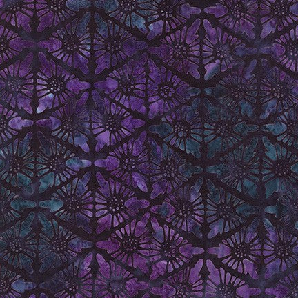 Kaufman Batiks Desertscapes Purple