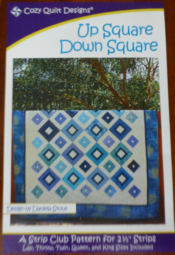 Cozy Quilt Design Up Square Down Square