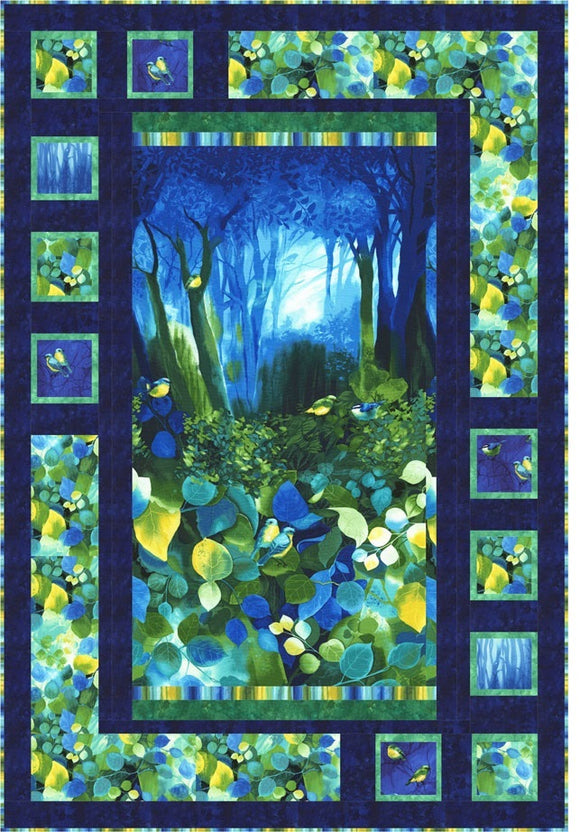 Deep Forest Quilt Kit