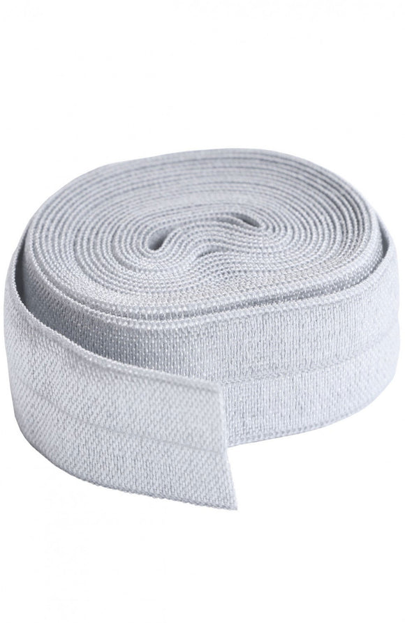 byAnnie Fold-Over Elastic Pewter