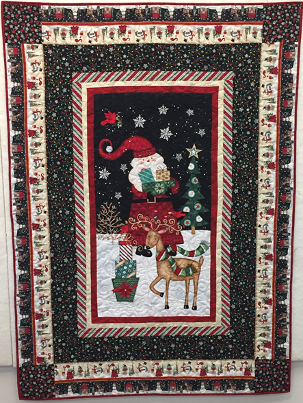 Holly Jolly Quilt Kit