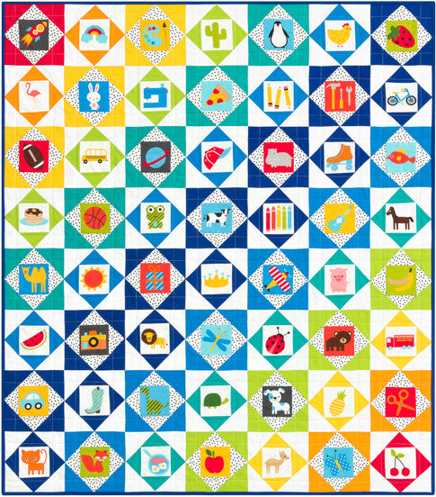 I-Spy Quilt Kit Bermuda Version