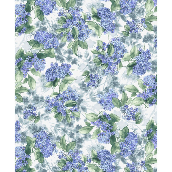 Maywood Studio Watercolor Hydrangeas Multi