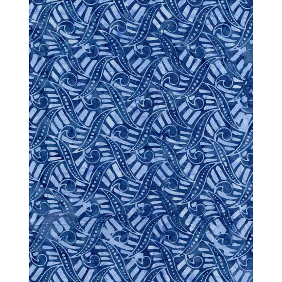 Maywood Studio Bejeweled Batiks Blue