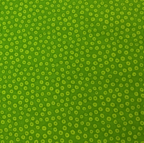 Andover Fabrics Many Eyes Looking Lime