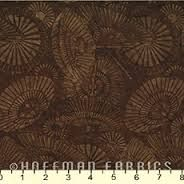 Hoffman Batiks Bali Handpaints Brown