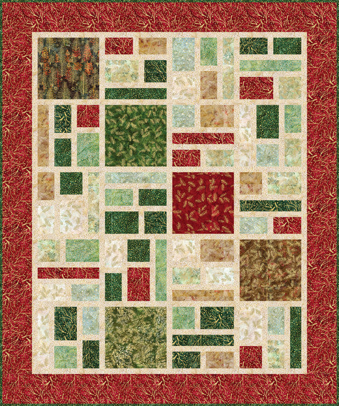 Northwoods Batik Quilt Kit