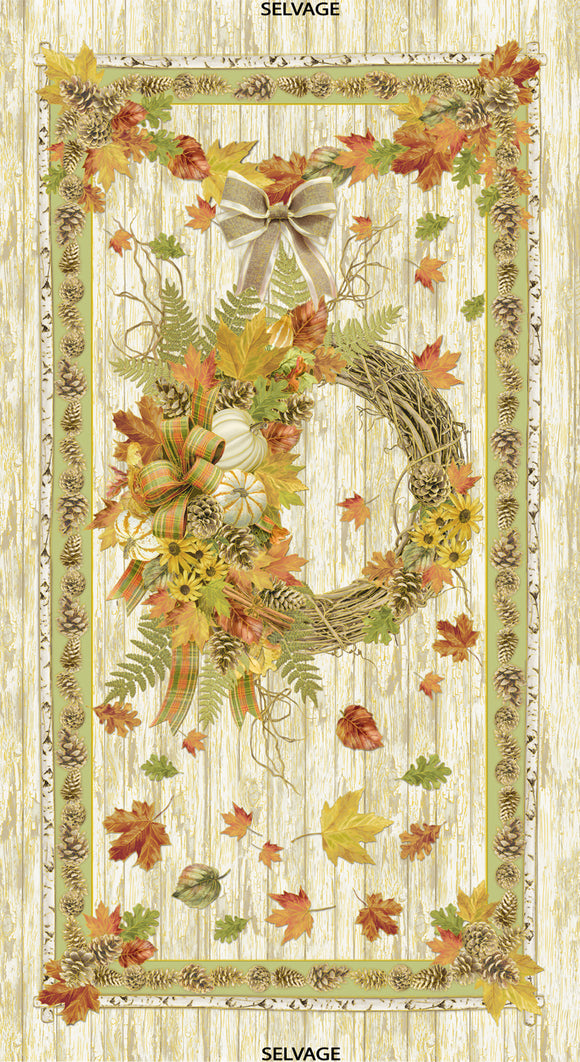 Timeless Treasures Autumn Bounty Beige 24