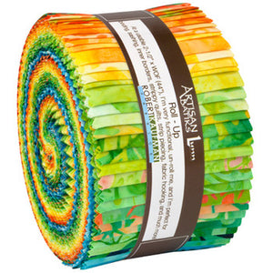 Robert Kaufman Batiks Summer Zest Roll Up