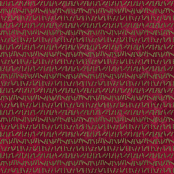 Midwest Textiles River's Bend Red