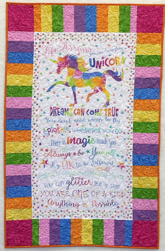 Unicorn Dreams Quilt Kit