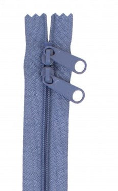 "byAnnie Country Blue 30"" Double Pull Zipper"
