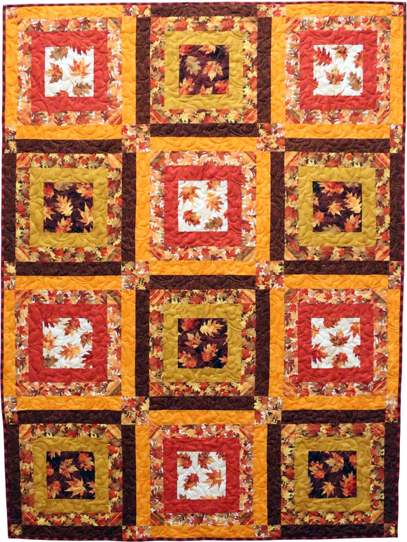 Amber Reflections Quilt Kit