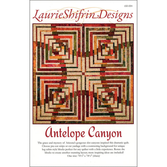Laurie Shifrin Designs Antelope Canyon Pattern