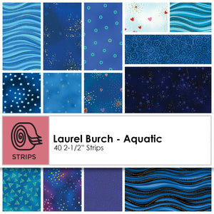 Clothworks Laurel Burch Aquatic Strip Roll