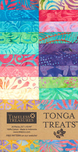 Timeless Treasures Batiks Tonga Treats Aruba