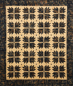 Kokopelli Bear Paw Batik Quilt Kit