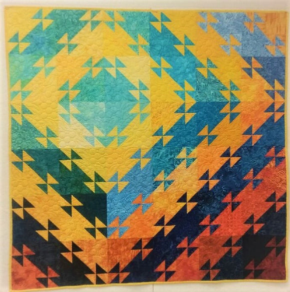 Sunset on the Water Quilt Kit