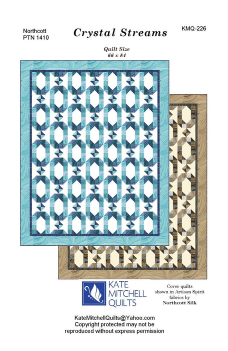Kate Mitchell Quilts Crystal Streams Pattern
