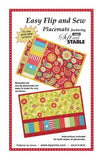 byAnnie Easy Flip and Sew Placemat Pattern