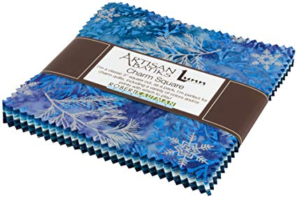 Kaufman Northwoods Batiks Evening Charm Square