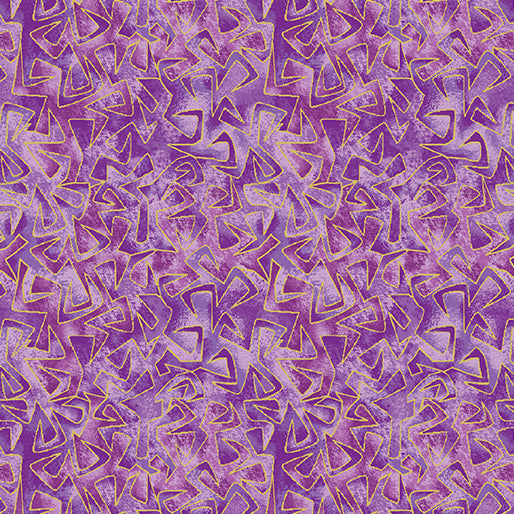 Benartex Catitude Purple