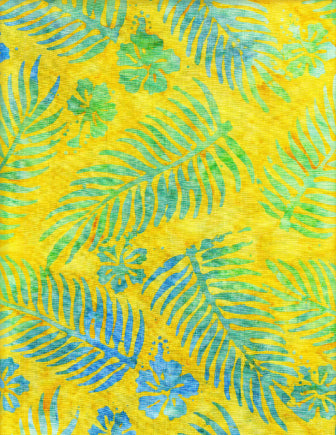 Anthology Batiks Yellow