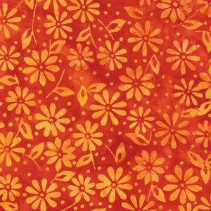 Maywood Studio Mango Tango Batiks Orange