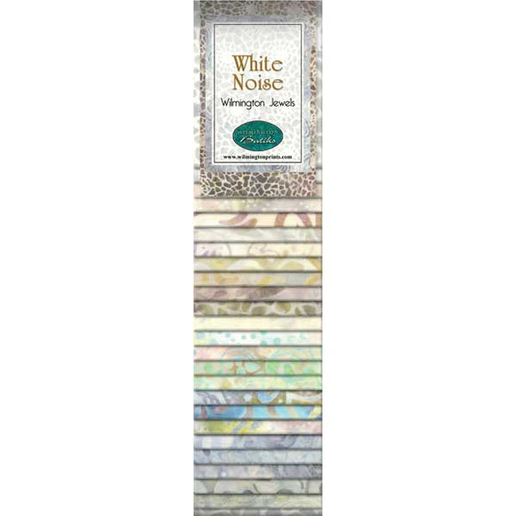 Wilmington Batiks  White Noise Strip Pack