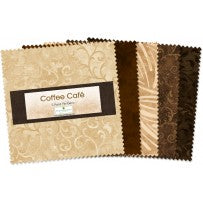 Wilmington Prints  Coffee Café Charm Pack