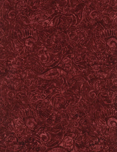 Timeless Treasures Tonga Batik Burgundy