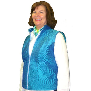 Feather Your Vest Pattern By Allison Quilt Designs