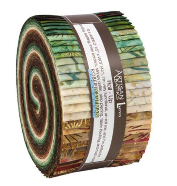 Kaufman Northwoods Batiks Forest Roll-Up