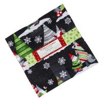 Wilmington Prints Winter Gnomes Layer Cake