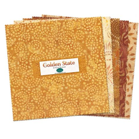 Wilmington Batiks Golden State Layer Cake